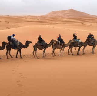 2 day excursion from Agadir to Erg Chegaga desert
